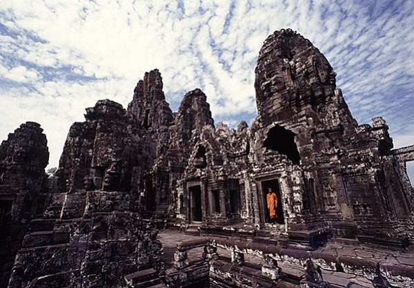 The Bayon temple - The heart of Angkor Thom