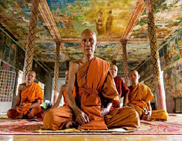 Buddhism appeared in Cambodia long time ago