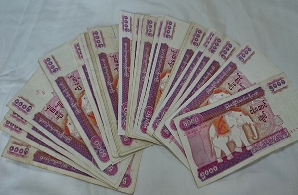 It is a good idea to have some kyats on hand