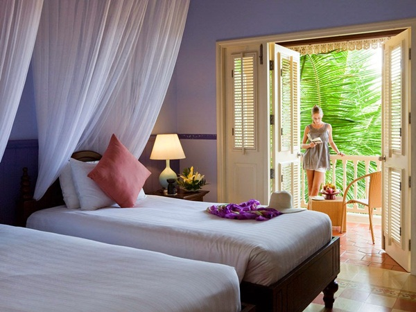 Every rooms of La Veranda Resort Phu Quoc-MGallery Collection have private balconies
