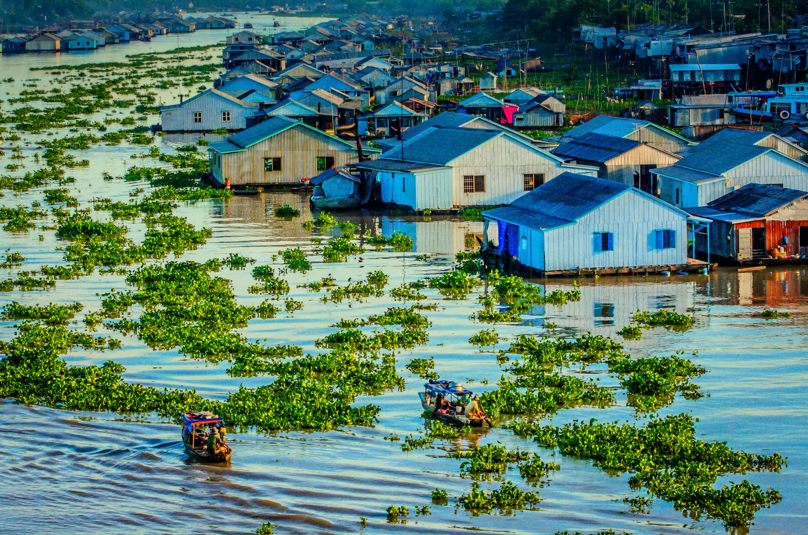 Chau Doc is often combined with Can Tho trip