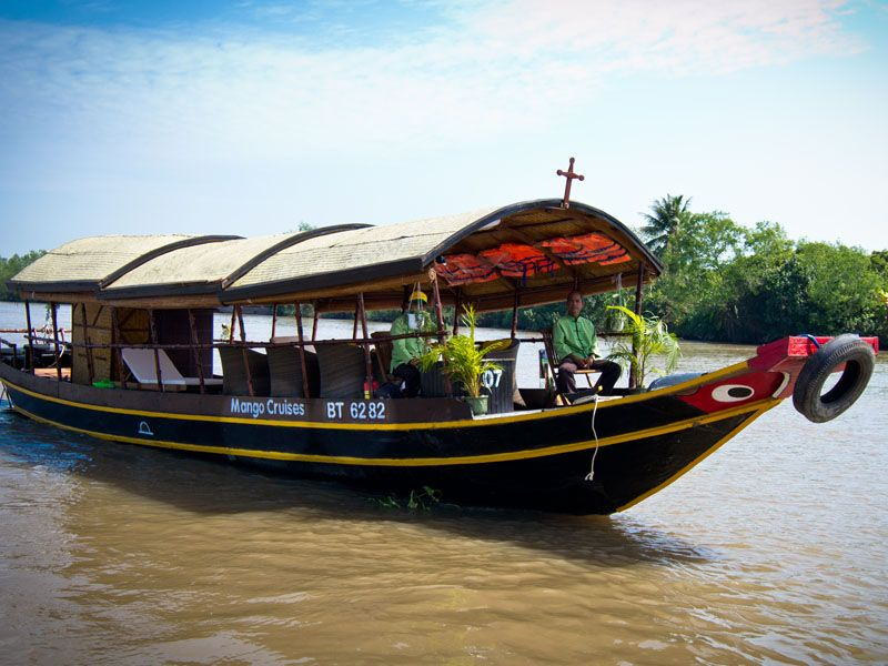 A Mekong River Cruise