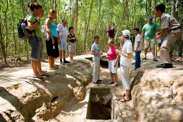 A visit to Cu Chi helps you know more about the tumultuous history of Vietnam