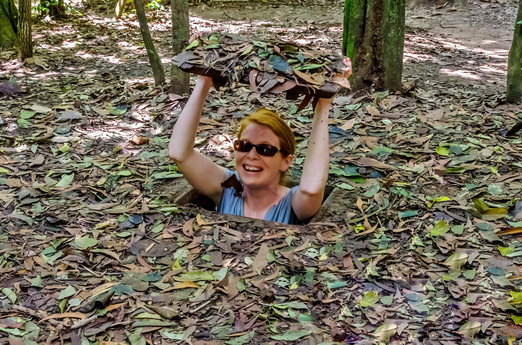 Interesting experience in Cu Chi