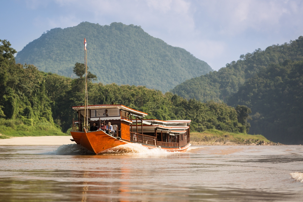 The Luang Say cruise boat