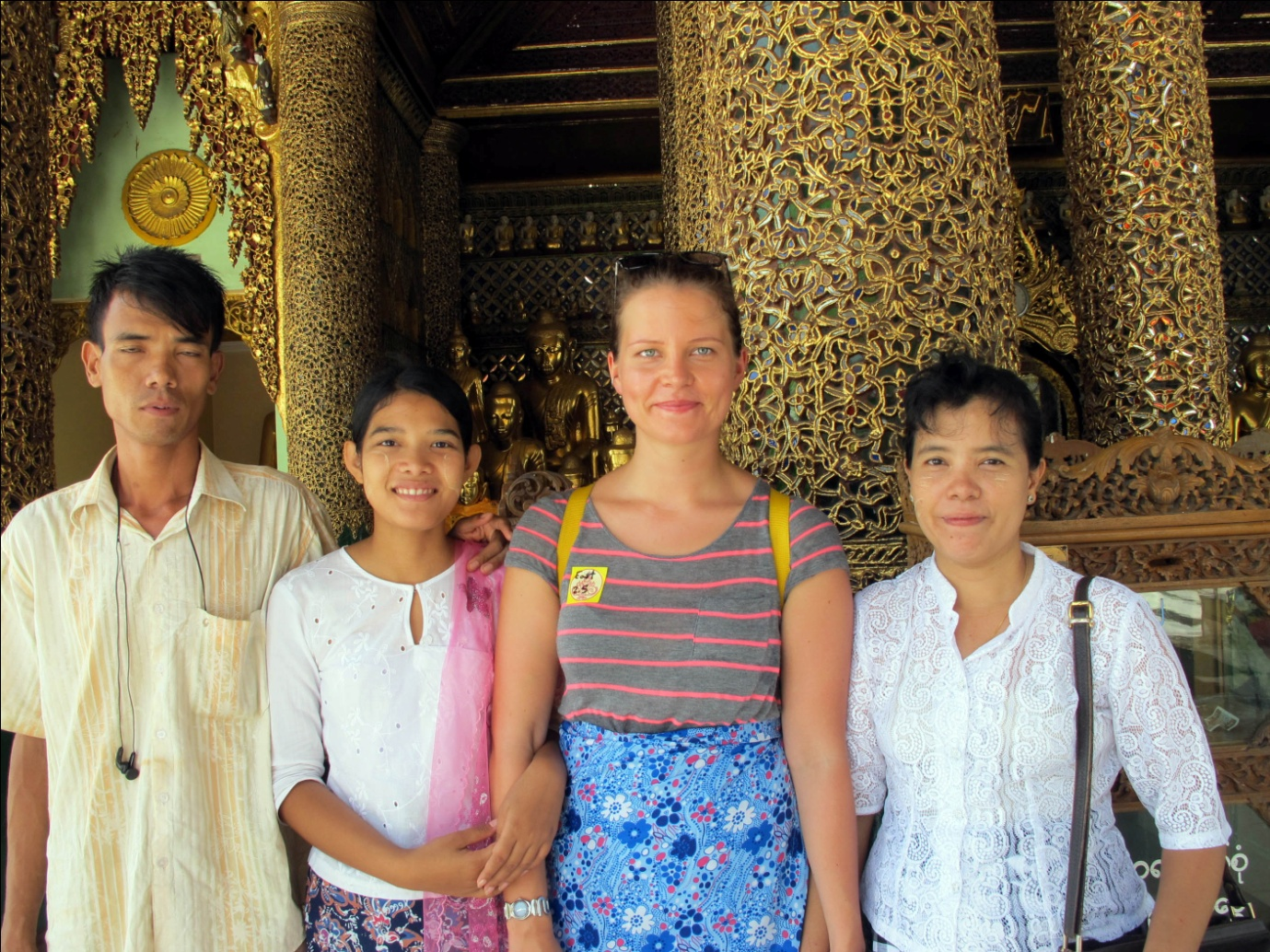 Talking with local people is a great way to get a better understanding of culture and modern life in Myanmar